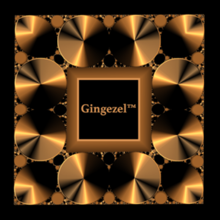 The Gingezel Logo.